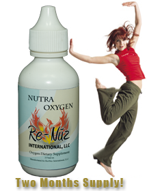 NutraOxygen Liquid Oxygen Vitamin Supplement - Energy Vitamin Supplement